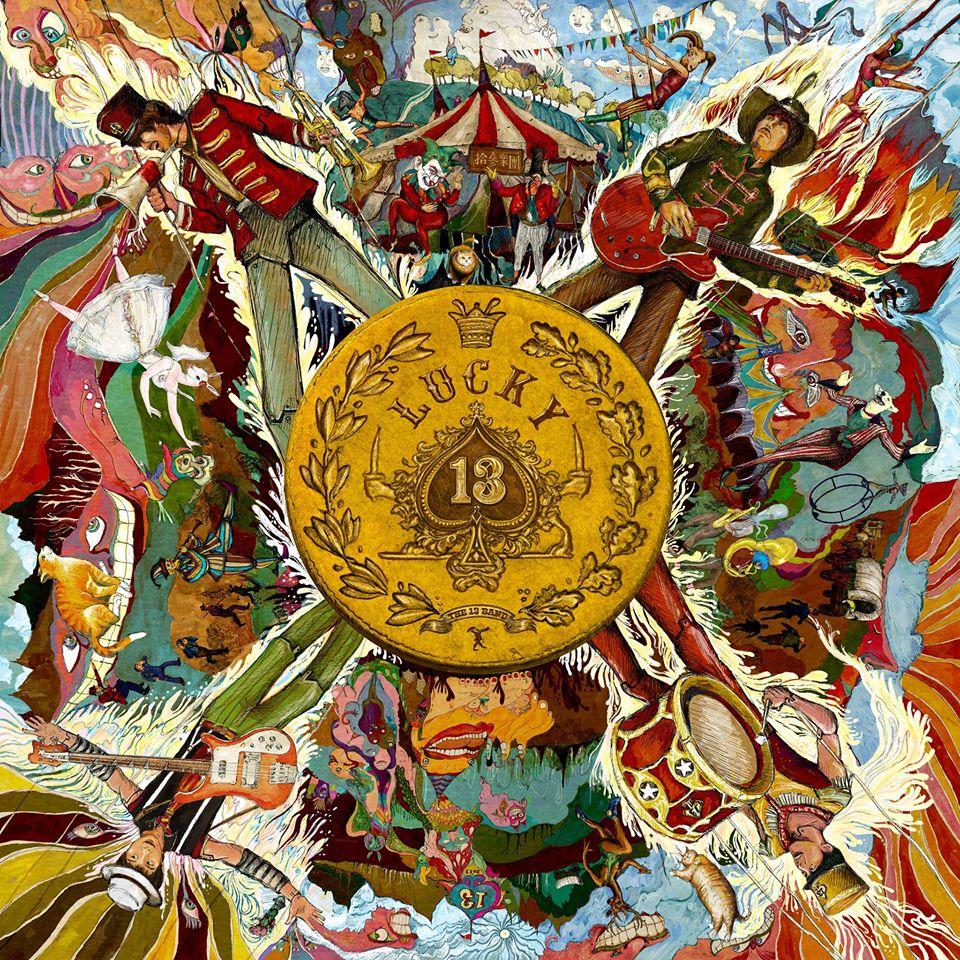 """The 13 band (拾參樂團) <BR>""""Lucky 13"""""""