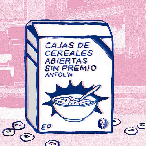"""Antolín <br>""""Cajas de cereales abiertas sin premio"""" EP"""