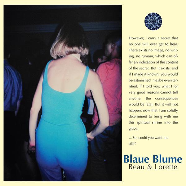 Blaue Blume <BR>&#8220;Beau &#038; Lorette&#8221;