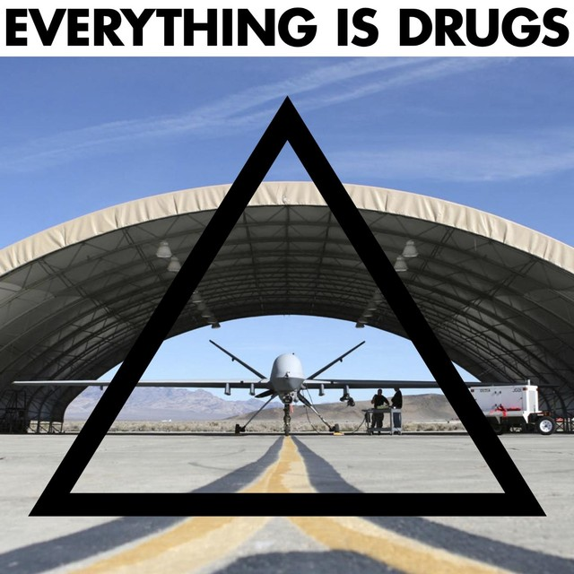 Complicated Universal Cum <BR>&#8220;Everything Is Drugs&#8221;
