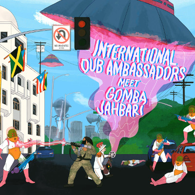 "International Dub Ambassadors <BR>""International Dub Ambassadors Meet Gomba Jahbari"""