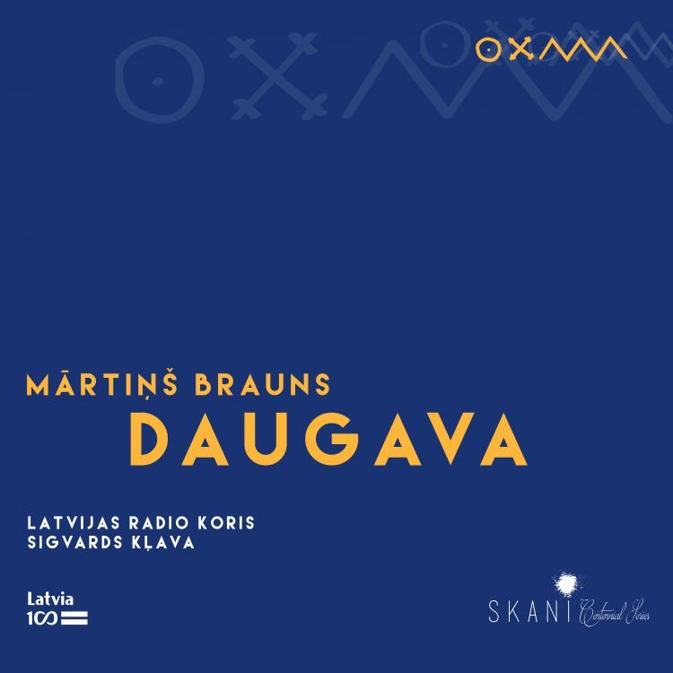 """Latvian Radio Choir, Sigvards Kļava, Mārtiņš Brauns """"Daugava"""""""