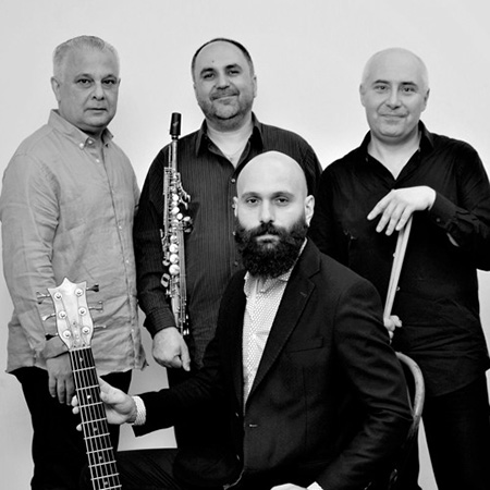 """Kavkaz Jazz Quartet <BR> """"Live In Concert 2017"""""""
