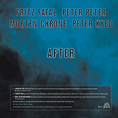 "Fritz Fatal, Peter Peter, Morten Chrone, Peter Kyed ""After / Det blødende hjerte"""